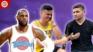 LeBron Leaves Lakers To Film Space Jam 2! PRANK COMPILATION