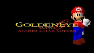 GoldenEye With Mario Characters - Full 00 Agent Playthrough Livestream