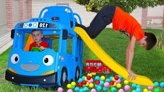 Wheels On The Bus for Kids, Tayo Little Bus Video for Children