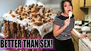 BETTER THAN SEX CAKE! - #TastyTuesday