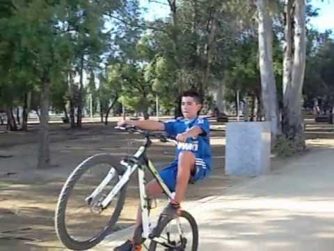 caballito en bici Parque de zafra Huelva1 47.seg