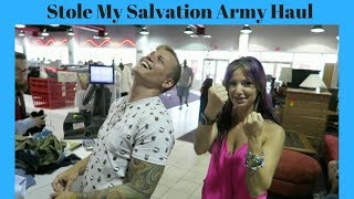 They stole My Salvation Army Haul!!!
