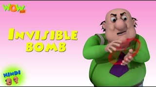 Invisible bomb - Motu Patlu in Hindi - 3D Animation Cartoon for Kids -As seen on Nickelodeon