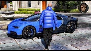 ► GTA 6 Graphics - Bugatti Chiron! 2018 ✪ M.V.G.A. - Gameplay! Realistic Graphics MOD 60FPS