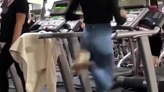 Sexy Girl Workout In Gym - تمرینات باشگاه دختر سکسی