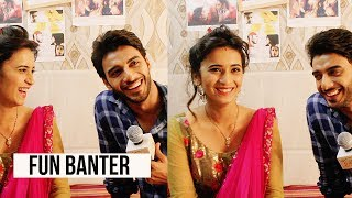 Candid with Shivani Surve & Vikram Singh Chauhan | Exclusive