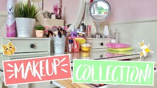 13 YEAR OLD MAKEUP COLLECTION!