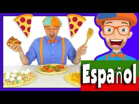 Xxx Mp4 Canción De La Divertida Pizza Por Blippi Español Comida Para Niños 3gp Sex