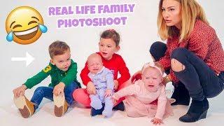 SURPRISE FAMILY PHOTOSHOOT!!