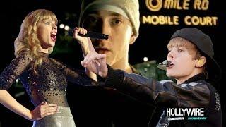 Taylor Swift Vs. Justin Bieber: Best Eminem 'Lose Yourself' Cover?!