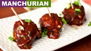 Dry Veg Manchurian Recipe In Hindi | ड्राई मंचूरियन | Indian Chinese Starters | CookWithNisha