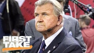 First Take reacts to Mike Ditka's national anthem protest comments | First Take | ESPN
