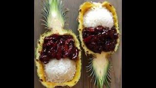 Teriyaki Chicken Pineapple Bowls