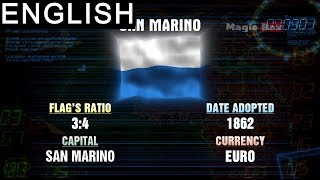 San marino -Western Europe- Flags Of The World-Pre School-Animation Videos For Kids