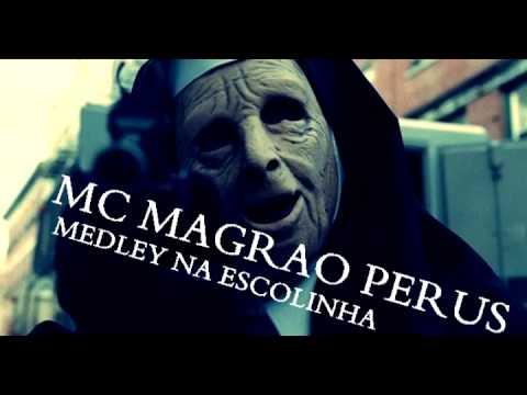 MC MAGRAO PERUS MEDLEY NA ESCOLINHA VOZ RELEMBRA A DO MC DALESTE