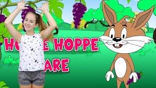 Barnsånger med handrörelser | Hoppe hoppe hare | Barnsånger  på svenska