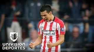 El 'Chucky' Lozano, elegido en el once ideal de la liga Eredivisie de Holanda