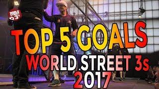 WS3s TOP 5 GOALS OF 2017
