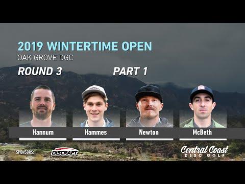 Xxx Mp4 2019 Wintertime Open Round 3 Part 1 Hannum Hammes Newton McBeth 3gp Sex