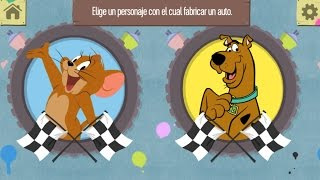 Scooby Doo,Tom y Jerry Carrera de Coches Juegos para Niños.Games for kids