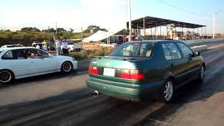Jetta vr6 vs Honda civic Turbo