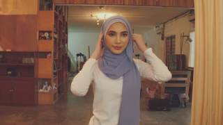 UMMA Hijab Tutorial #1 - How to wear Azra Semi-Instant Scarf