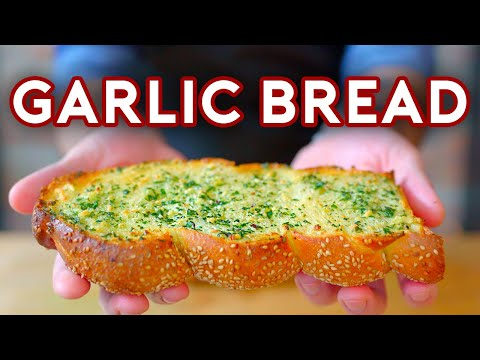 Binging with Babish Garlic Bread from Scott Pilgrim vs The World