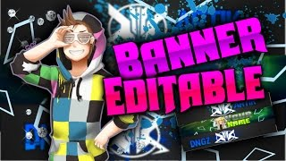 ♦Speed Art♦Banner Editable♦Ps Touch y Photo Editor♦