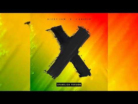 Nicky Jam, J Balvin - X (EQUIS) (Spanglish Versión) Audio Oficial | Prod. Afro Bros & Jeon
