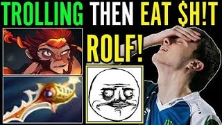 Miracle Trolling and Unexpected Result! Monkey King Carry vs Arise and Gorgc
