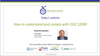 How to understand and comply with FSSC 22000