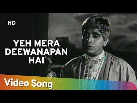 Xxx Mp4 Yeh Mera Deewanapan Hai HD Yahudi Songs Dilip Kumar Meena Kumari Mukesh Filmigaane 3gp Sex