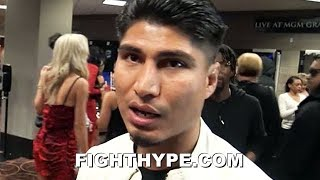 MIKEY GARCIA REACTS TO PACQUIAO'S DOMINANT WIN OVER ADRIEN BRONER:
