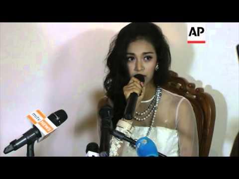 Dethroned Myanmar beauty queen blasts pageant boss