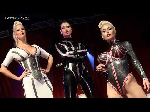 Bondinage Latex Fashion Show - Sexhibition 2016 | LatexFashionTV
