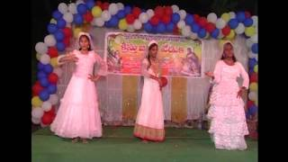 Naa priyuda na priya yesu (నా ప్రియుడా న ప్రియా యేసు) Song Dance By Gospel Church Yanamalakuduru