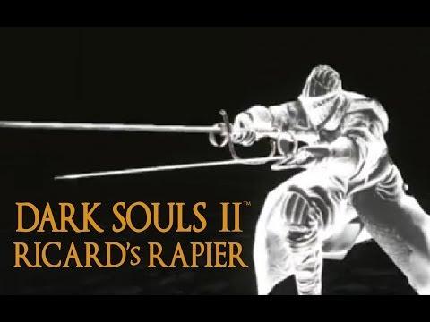 Dark Souls 2 Ricard's Rapier Tutorial (dual wielding w/ power stance)