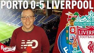Mane, Firmino, Salah. Unbelievable! | Porto v Liverpool 0-5 | Chris' Match Reaction