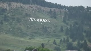 Sturgis 2018. August 3, downtown  in the afternoon