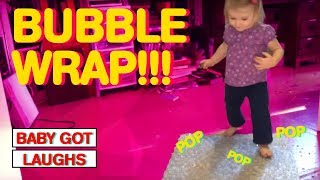 Babies and Bubble Wrap! | The Funniest Moments!