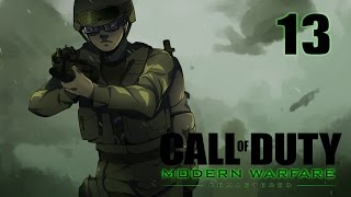 Call of Duty 4 Modern Warfare Remastered Campaign Walkthrough Part 13 - Unconventional Escort