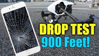 iPhone 6 Drop Test - Extreme 900 Feet Drop Test!