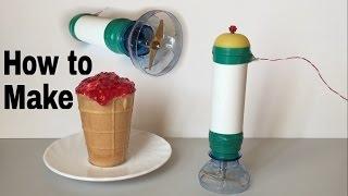 How to Make a Hand Blender (Fruit Cutting Machine) - Tutorial