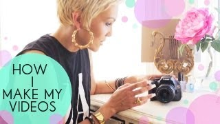 How I Light, Film & Make My Videos | Kandee Johnson