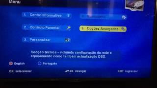 Configurar Rede DSTV Angola
