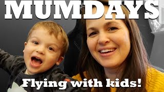 Flying longhaul with two little ones | MUMDAYS