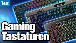 Die besten Gaming-Tastaturen im Test (2017) | deutsch / german