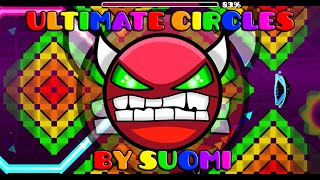 [DEMON] EL Nine Circles Mas EPICO! Ultimate Circles By Suomi - Geometry Dash 2.0|Epic Pingui