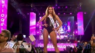 Desfile en Traje de Baño en el  Hilton - Miss Colombia 2016