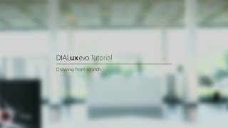 #18 DIALux evo tutorial - Drawing from scratch